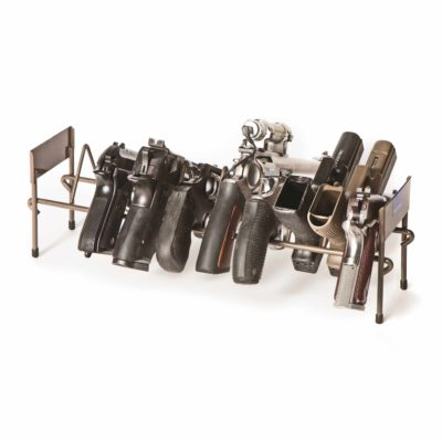 10 Pistol Stackable Rack