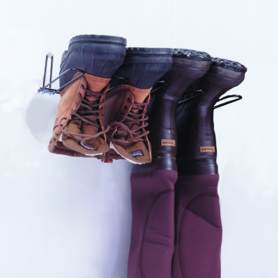 2 Pair Boot Rack