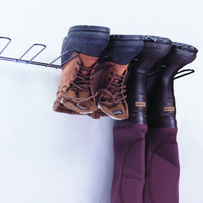 3 Pair Boot Rack