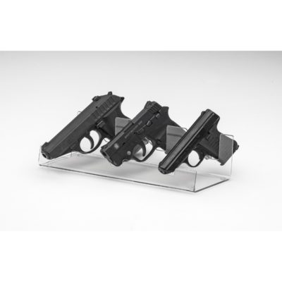 """Angled"" Pocket Pistol - 3 Pistol Display 12.125 "" long"