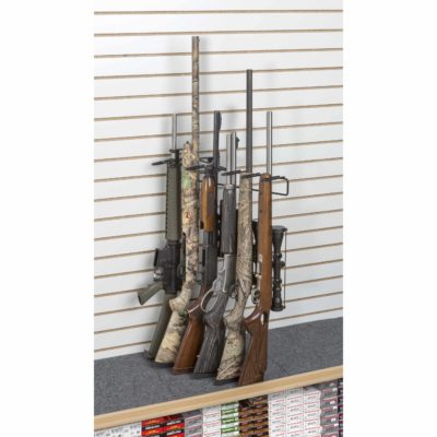 1' 6 Rifle Leans Right Display Slat Wall
