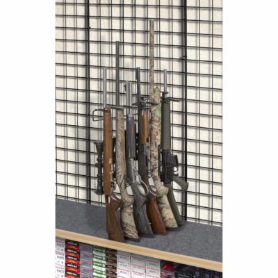 1' 6 Rifle Leans Left Display Grid Wall