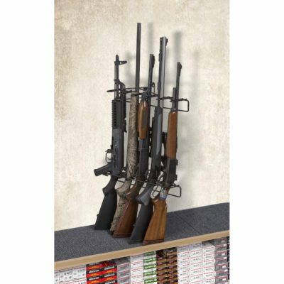 1' 5 Rifle Locking Leans Right Display Mount Anywhere
