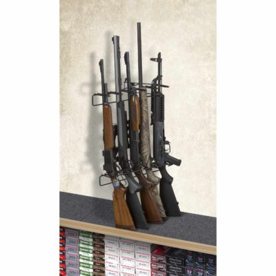 1' 5 Rifle Locking Leans Left Display Mount Anywhere