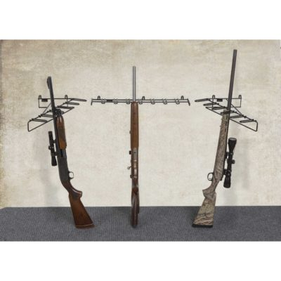 "4'2"" 18 Rifle ""U-Shape"" Display Mount Anywhere"