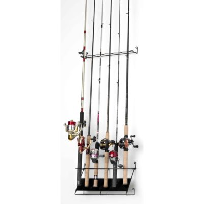 Deluxe 6 Rod Vertical Rack