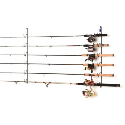 Horizontal 6 Rod Fishing Rack
