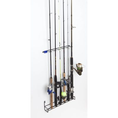 Vertical 6 Fishing Rod Rack
