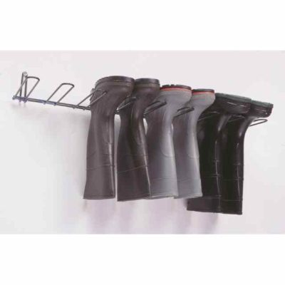 Boot Rack, Stainless Steel, Holds 4 Pairs.