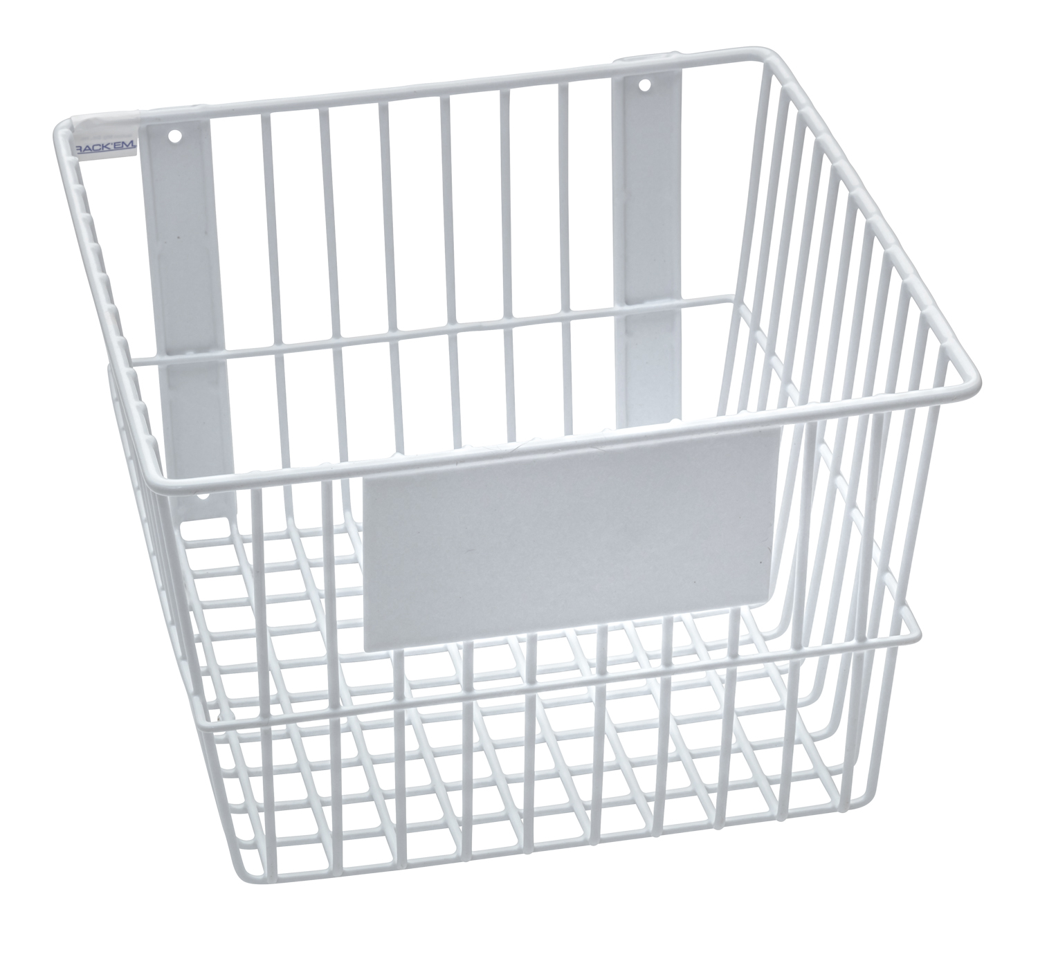 Universal White Wire Basket For your storage and organizational ...