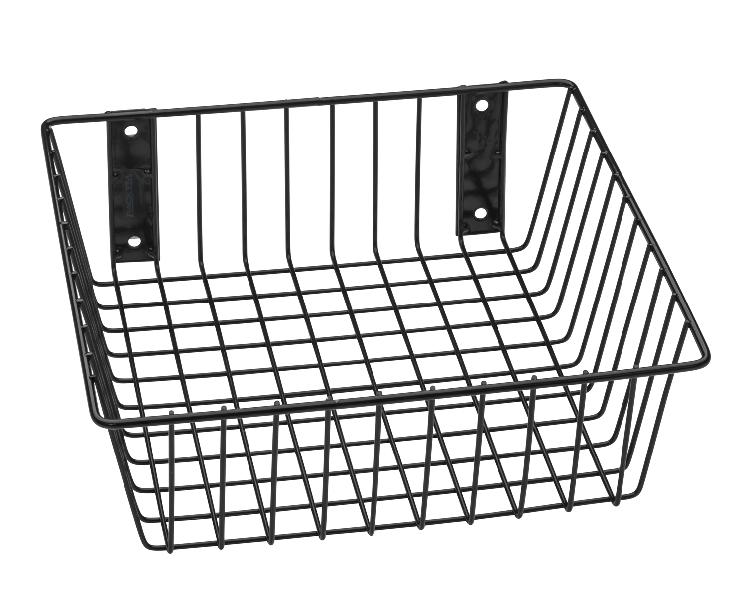 Universal Black Wire Basket For Your Storage And Organizational Needs  (9078 B)